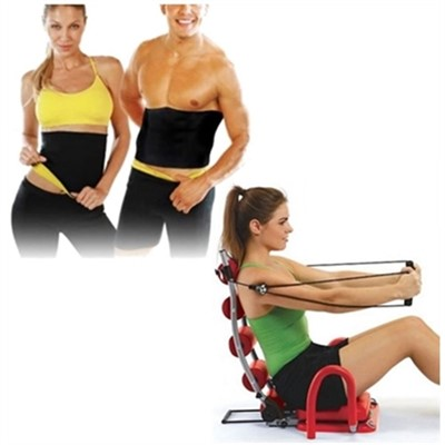 Ab Rocket Twister Pro Plus Double Spring with Hot Belt