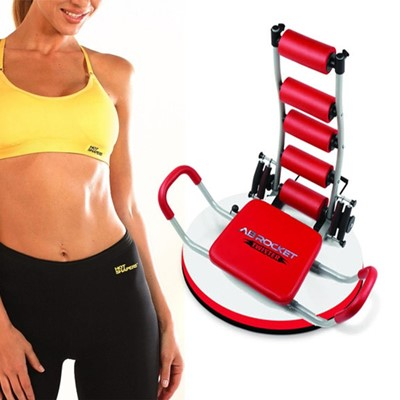 Ab Rocket Twister Pro Plus Double Spring with Hot Shapers