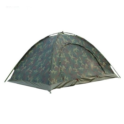 ARMY PORTABLE ADVENTURE HIKING KIDS FAMILY CHILDREN PICNIC TRAVEL INSTANT OUTDOOR CAMPING WATERPROOF BACKPACKING SHELTER BAG Tent Green