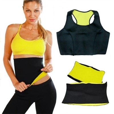Hot Shapers Pants Belt Top Combo
