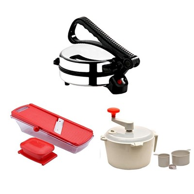 Roti Maker Dough Maker 6 In 1 Slicer
