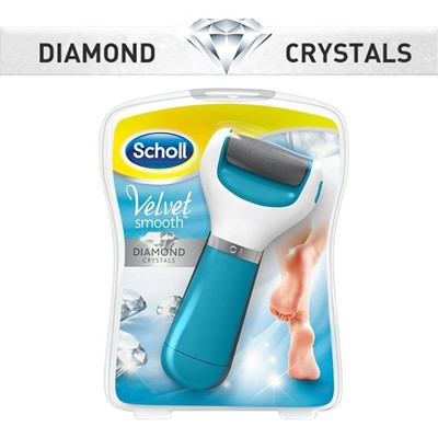 Scholl Diamond Crystals Velvet Smooth Express Pedi spin